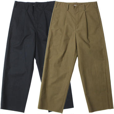 "AURALEE(オーラリー)""HIGH COUNT CLOTH WIDE PANTS"""