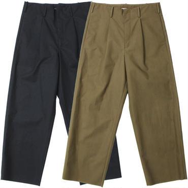 "AURALEE(オーラリー)""HIGH COUNT CLOTH WIDE PANTS"""
