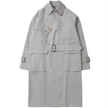 "S.E.H KELLY(エスイーエイチケリー)""YARN-DYED VENTILE TRENCH COAT"""