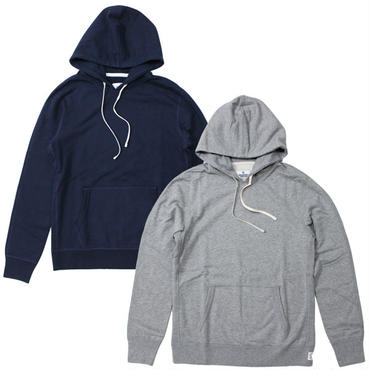 "REIGNING CHAMP(レイニングチャンプ)""COER PULLOVER HOODIE""NAVY,H.GRAY【2015 F/W】"