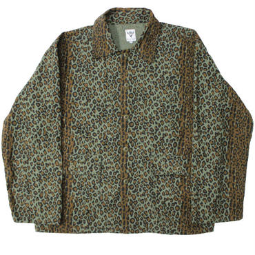 "South2 West8 (サウスツーウエストエイト)""Hunting Shirt - Printed Flannel / Camouflage"""