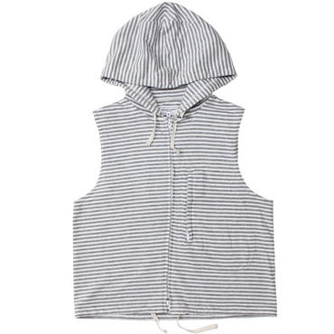 "Engineered Garments(エンジニアードガーメンツ)""SLEEVELESS KNIT HOODY - ST.FRENCH TERRY"""