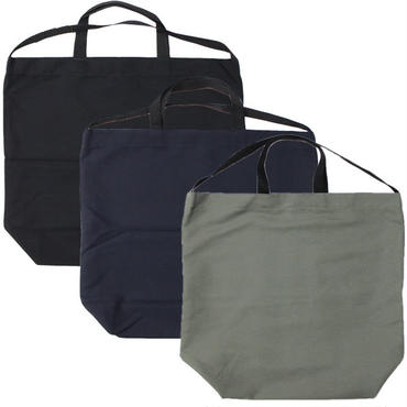 "Engineered Garments(エンジニアード ガーメンツ)""Carry All Tote w/ Strap - Cotton Double Cloth"""