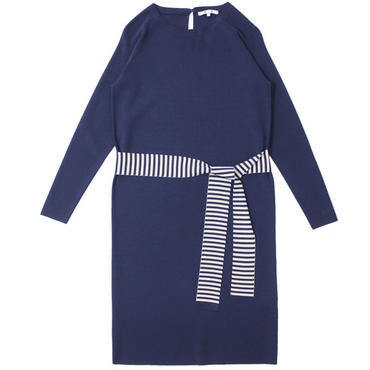 "Ladies' /three dots (レディース スリードッツ) ""Smooth Rayon l/s dress w/tie"""