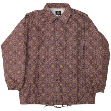 "NEEDLES(ニードルス)""Coach Jacket - Poly Taffeta / Fine Pattern Print"""