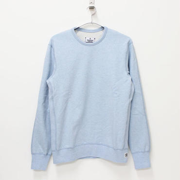 REIGNING CHAMP(レイニングチャンプ)- CREWNECK L/S TWILL TERRY PULLOVER -SAX