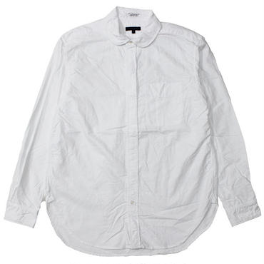"Engineered Garments(エンジニアードガーメンツ)""Rounded Collar Shirt - Cotton Oxford"""