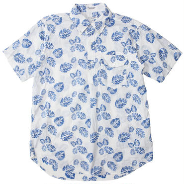"Engineered Garments(エンジニアードガーメンツ)""Pop Over BD Shirt - Lt.Weight Big Leaf"""