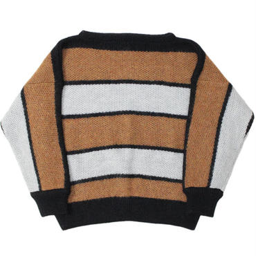 "Ladies' /NEEDLES WOMAN(ニードルス ウーマン)""Mohair Boat Neck Sweater - Stripe"""