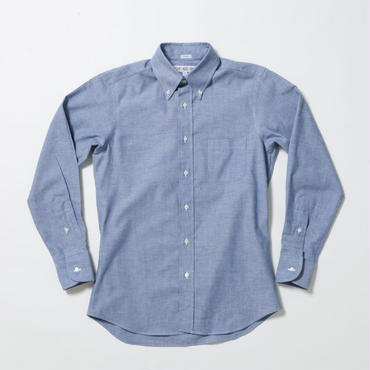 INDIVIDUALIZED SHIRT(インディビジュアライズドシャツ)STANDARD FIT Heritage Chambray Blue/J81BCO【再入荷】