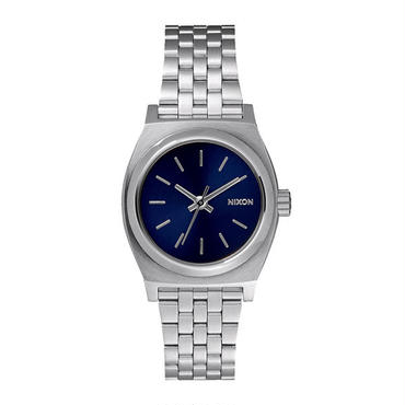 """Ladie's /NIXON(ニクソン)""""THE SMALL TIME TELLER"""" ALL SILVER/COBALT"""