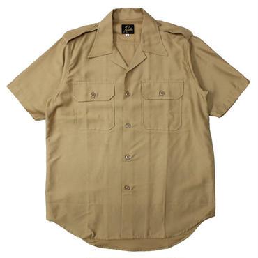 "Ladies' /NEEDLES WOMAN(ニードルス ウーマン)""S/S Officer Shirt - T/C Back Sateen"""