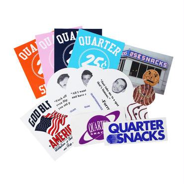 "QUARTERSNACKS(クォータースナックス)""STICKER PACKS"""