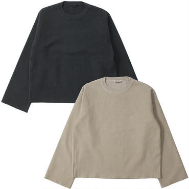 "Ladies' /AURALEE(レディース オーラリー)""SUPER MILLED SWEAT CUT-OFF P/O"""