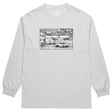 "POLAR SKATE CO.(ポーラー スケート カンパニー)""STRAIGHT FROM THE HOOD LONGSLEEVE"""