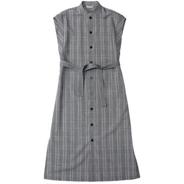 "Ladies' /AURALEE(レディース オーラリー)""SUMMER WOOL GLEN CHECK ONE-PIECE"""