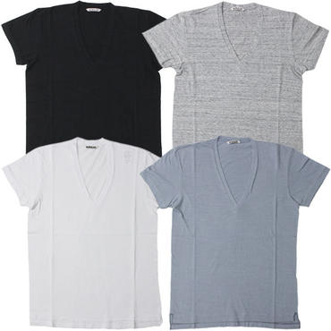 "Ladies' /AURALEE(レディース オーラリー)""SEAMLESS V-NECK TEE"""