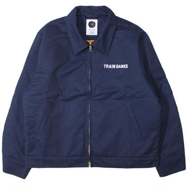 "POLAR SKATE CO.(ポーラー スケート カンパニー)""TRAIN BANKS JACKET"""