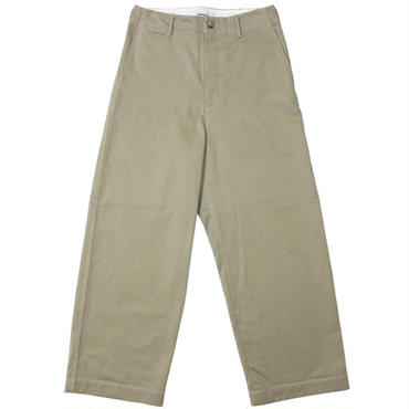 "AURALEE(オーラリー)""WASHED FINX CHINO WIDE PANTS"""