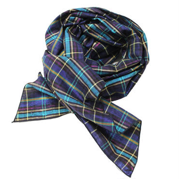 "Engineered Garments(エンジニアード ガーメンツ)""Long Scarf - Glitter Plaid"""