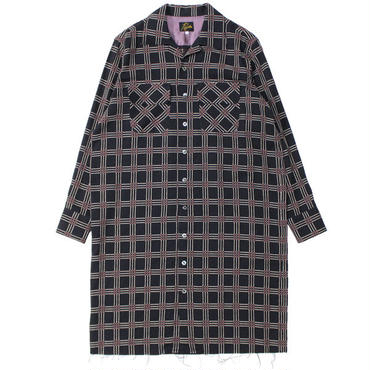 "Ladies' /NEEDLES WOMAN(ニードルス ウーマン)""Classic Shirt Dress - C/R Dobby Plaid"""