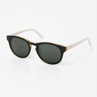 "Han Kjøbenhavn(ハンコペンハーゲン)""TIMELESS sunglass(GREEN"")CARAMEL/GREY【再入荷】"