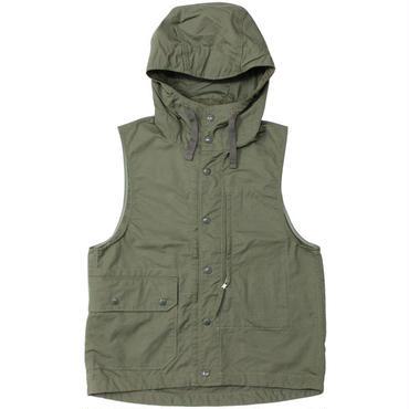 "Engineered Garments(エンジニアードガーメンツ)""Field Vest - Nyco Ripstop"""