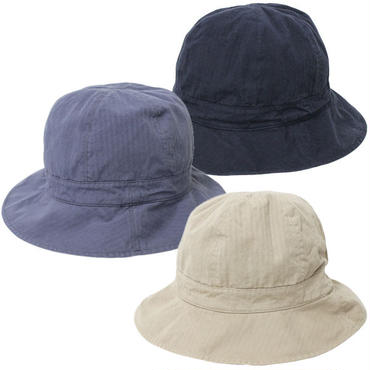 "KIJIMA TAKAYUKI(キジマ タカユキ)""HERRING BONE 6 PANEL HAT  [No.171112]"""