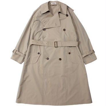 "Ladies' /AURALEE(レディース オーラリー)""FINX POLYESTER BIG TRENCH COAT"""