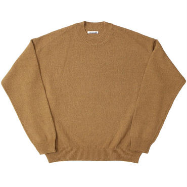 "AURALEE(オーラリー)""CORKSCREW YARN KNIT P/O"""