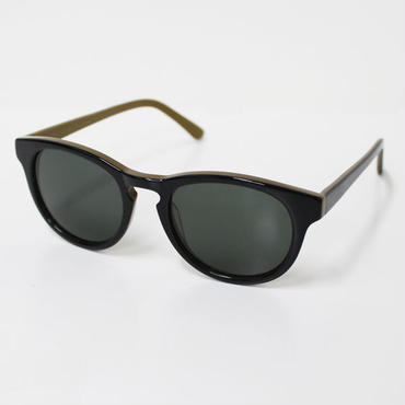 "Han Kjøbenhavn(ハンコペンハーゲン)""TIMELESS Sunglasses(GREEN)""LIQUORICE"