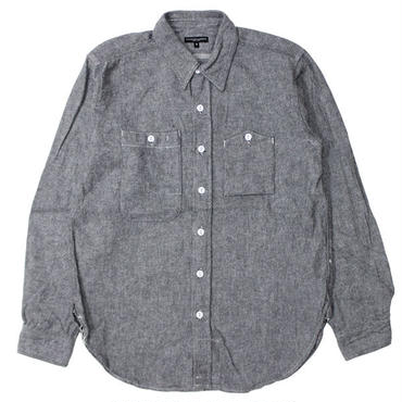 "Engineered Garments(エンジニアードガーメンツ)""Work Shirt - Solid Flannel"""