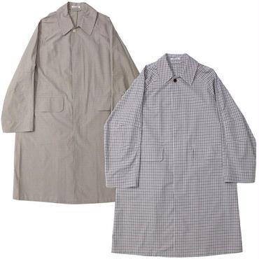 "AURALEE(オーラリー)""FINX WEATHER CLOTH CHECK COAT"""