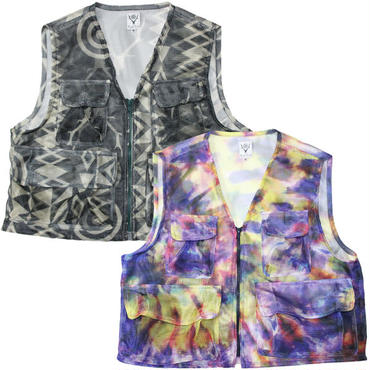 """South2 West8 (サウスツーウエストエイト)""""Mesh Bush Vest - Poly Mesh"""""""