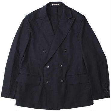 "AURALEE(オーラリー)""FINX LINEN OX DOUBLE-BREASTED JACKET"""