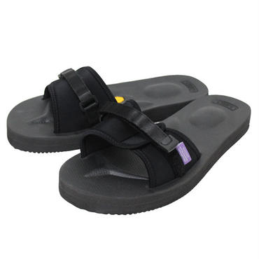"NEPENTHES(ネペンテス)""Suicoke / Purple Label Slide-In Sandal w/ A-B Vibram"" Black"