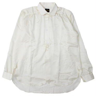 "NEEDLES(ニードルス)""Round Collar EDW Gather Shirt - C/S Sateen"""