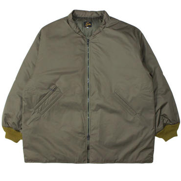 "NEEDLES(ニードルス)""Stand Collar Down Sur Coat - Powdery Poly Taffeta"""