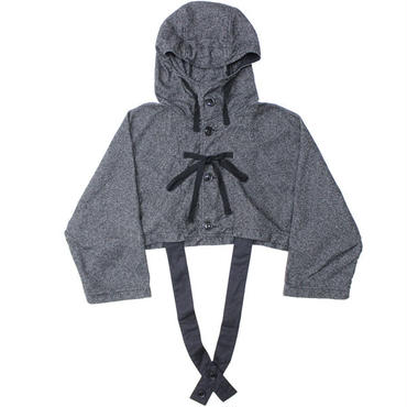 "Engineered Garments(エンジニアード ガーメンツ)""Cruiser Cape - Wool Homespun"""