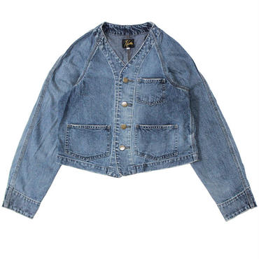 "Ladies' /NEEDLES WOMAN(ニードルス ウーマン)""Engineer Jacket - 10oz Denim / Vintage"""
