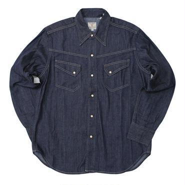 LEVI'S VINTAGE CLOTHING(リーバイス ビンテージクロージング)-50's Western Denim Shirt -Rinse
