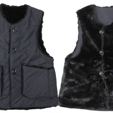 "Engineered Garments(エンジニアードガーメンツ)""Over Vest / Fur - Nyco Ripstop""【Restock】"