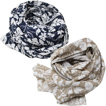 "Engineered Garments(エンジニアード ガーメンツ)""Long Scarf - Floral Printed Lawn"""