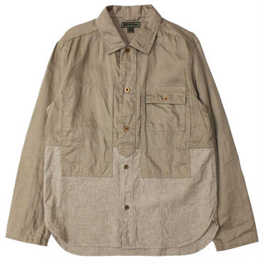 "Nigel Cabourn(ナイジェルケーボン)""UTILITY MIX SHIRT 6oz [C/L DENIM]"""