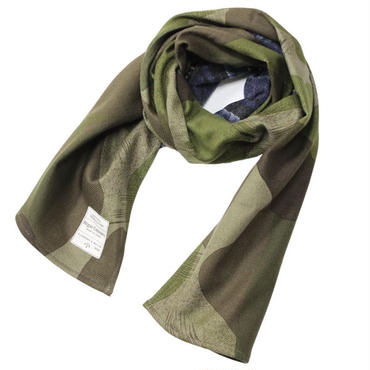 "Nigel Cabourn(ナイジェルケーボン)""STOLE [REVERSIBLE CAMO/CHECK]"""