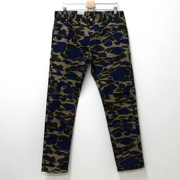 Carhartt(カーハート)- LINCOLN SINGLE KNEE PANT -CAMO BLUE