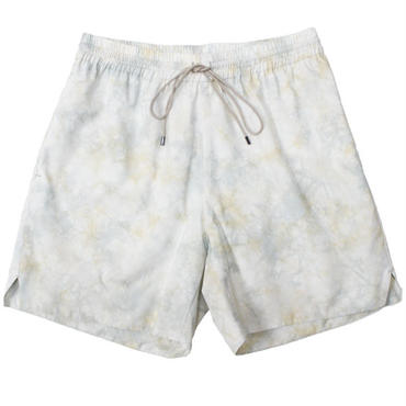 "AURALEE(オーラリー)""BASKET DYE TYPEWRITER SHORTS"""