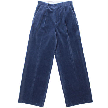 "Ladies' AURALEE(レディース オーラリー)""WASHED CORDUROY WIDE SLACKS"""