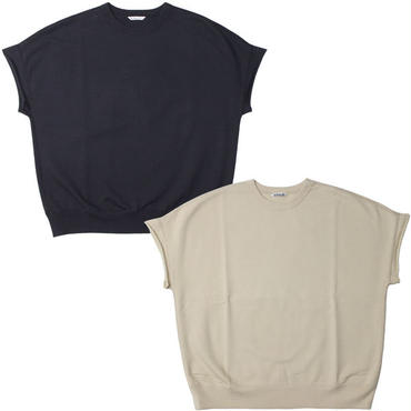 "Ladies' AURALEE(レディース オーラリー)""SUPER SOFT SWEAT BIG SLEEVELESS"""