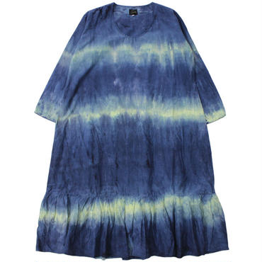 "Ladies' /NEEDLES WOMAN(ニードルス ウーマン)""U Neck Dress - R/C Sateen / Tie Dye"""